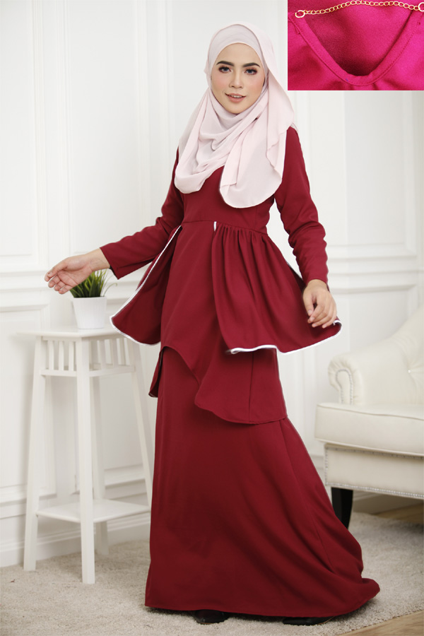 2819383c653 Muslimah Plus Size Dress