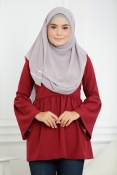 Indrania Wave Blouse (PLUS SIZE MATERNITY PREGNANCY)