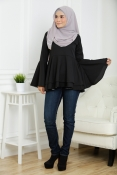 Victoria Blouse Peplum (BREASTFEEDING)