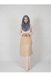 Ruka Chiffon Jubah Dress (BREASTFEEDING)