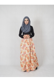 Amisha Floral Jubah Dress (BREASTFEEDING)