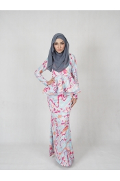 Peplum Baju Kurung (BREASTFEEDING)