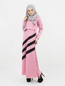 Nira Breastfeeding Jubah Dress