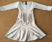 Sandra Peplum Jubah Dress Kids