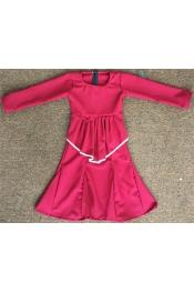 Sandra Peplum Jubah Dress Kids