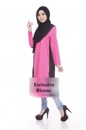 Jelita Exclusive Muslimah Blouse Zip