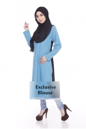 Jelita Exclusive Muslimah Blouse Zip