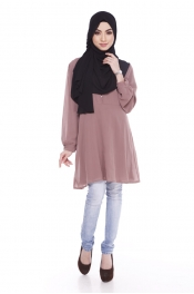 Acalqis Button Blouse Top Exclusive