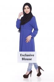Acalqis Button Blouse Top Exclusive