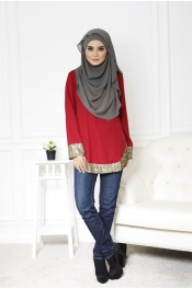 Amina Blouse Top
