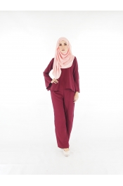 Carolina set Blouse+Pants Palazzo