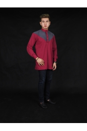 Jamal Button Kurta Cotton