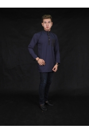 Fernando Kurta Pocket Cotton