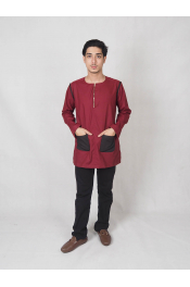 james Men Kurta Zip