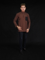 Fiza Lipat Cotton Kurta