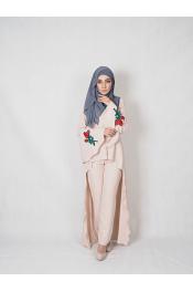 Sulia Rose Set Blouse + Pants ( PLUS SIZE )