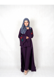 Sulia Rose Set Blouse + Pants ( PLUS SIZE )