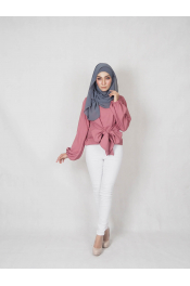 Fatia Blouse ribbon (PLUS SIZE)