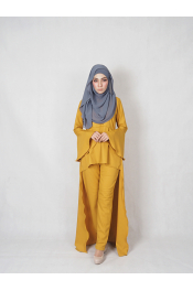 Sulia Set Blouse + Pants (PLUS SIZE)