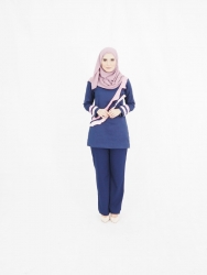 Minalis Set Blouse+Pants (PLUS SIZE)