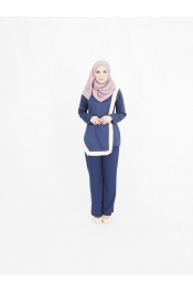 Yara Set Blouse+Pants (PLUS SIZE)