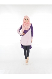 Dintiana Fishtail Blouse (PLUS SIZE)