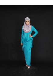 ahgogo Set Blouse+Pants Palazzo (PLUS SIZE)