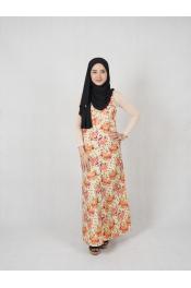 Udiah Flora Dress (PLUS SIZE)
