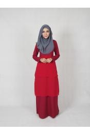 Ruka Chiffon Jubah Dress (MATERNITY PREGNANCY)