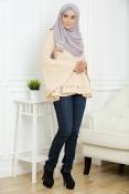 Victoria Blouse Peplum (MATERNITY PREGNANCY)