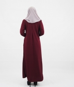 Nira Breastfeeding Jubah Dress (PLUS SIZE BREASTFEEDING)