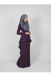 leofar Fishtail Baju kurung (PLUS SIZE BREASTFEEDING)