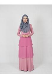 Ruka Chiffon Jubah Dress (PLUS SIZE BREASTFEEDING)