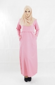 Fla Friendly Jubah (PLUS SIZE BREASTFEEDING)