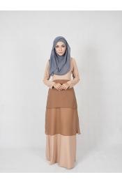 Ruka Chiffon Jubah Dress (PLUS SIZE)
