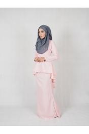 leofar Fishtail Baju kurung (PLUS SIZE)