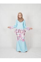 Lyiara Printed Baju Kurung(PLUS SIZE)