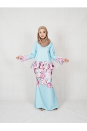Lyiara Printed Baju Kurung (PLUS SIZE)