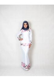 Sofiya Floral Printed Baju kurung (PLUS SIZE)