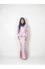 Zamiya Peplum Baju kurung (PLUS SIZE)