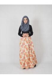 Amisha Floral Jubah Dress (PLUS SIZE MATERNITY PREGNANCY)