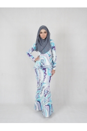 Peplum Baju Kurung Pucci (PLUS SIZE MATERNITY PREGNANCY)