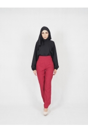 Rolazi High Waist Slim Pants (PLUS SIZE)