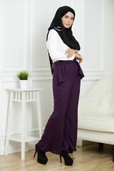 Merin Peplum Pants Bootcuts (Plus Size)