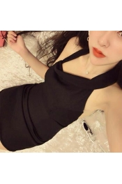Korean Sexy Summer Club Short Dress