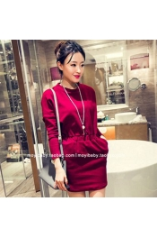 Korean Summer City Casual Women Dress