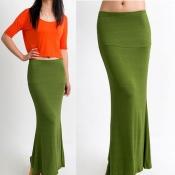 Korean Summer Soft Cotton Casual Skirts (HOT ITEM)