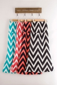 Korean Summer Mountain Design Casual Skirts Soft Cotton