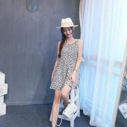 Korean Retro Midi Dress