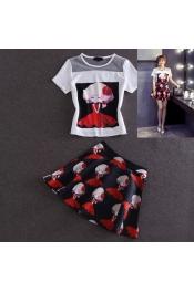 Korean Summer Exclusive Tops+Skirts